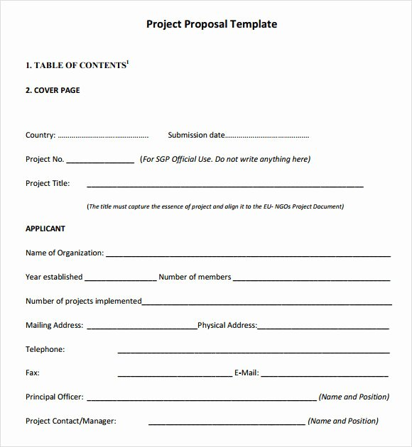 Project Proposal Outline Template Awesome Free 9 Sample Project Outline Templates In Pdf Word