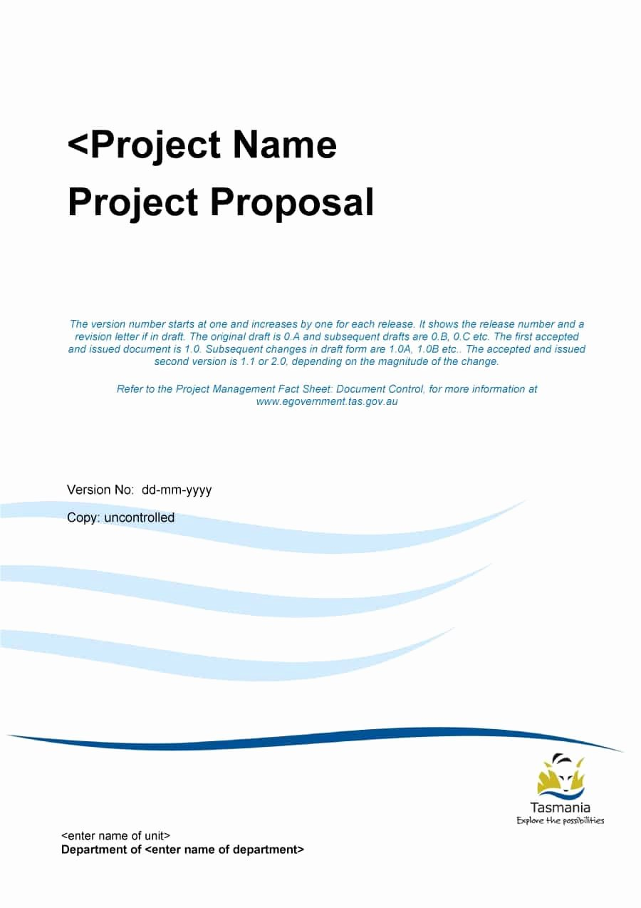 Project Proposal Outline Template Beautiful 43 Professional Project Proposal Templates Template Lab
