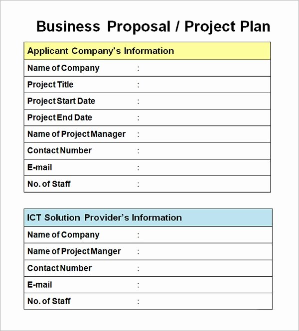 Project Proposal Outline Template Luxury Sample Business Proposal Template 30 Documents In Pdf