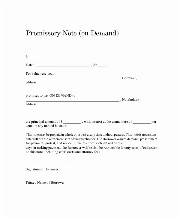 Promissory Note Payoff Letter Luxury 18 Promissory Note Templates Google Docs Ms Word