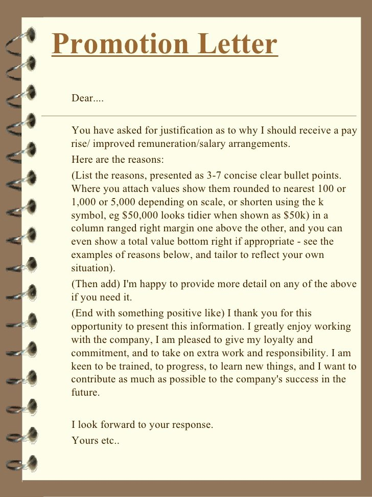 Promotion Letter Of Interest Awesome How to Write A Justification Letter for Promotion