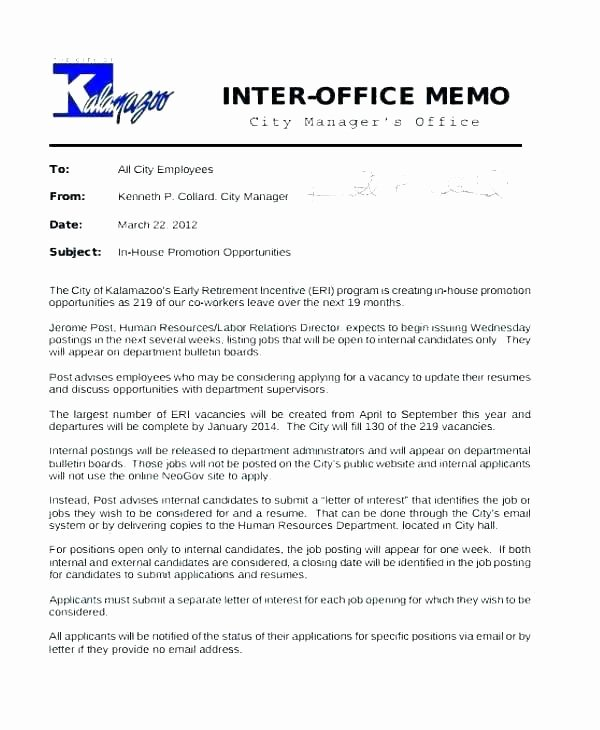 Promotion Letter Of Interest Luxury Meltfm