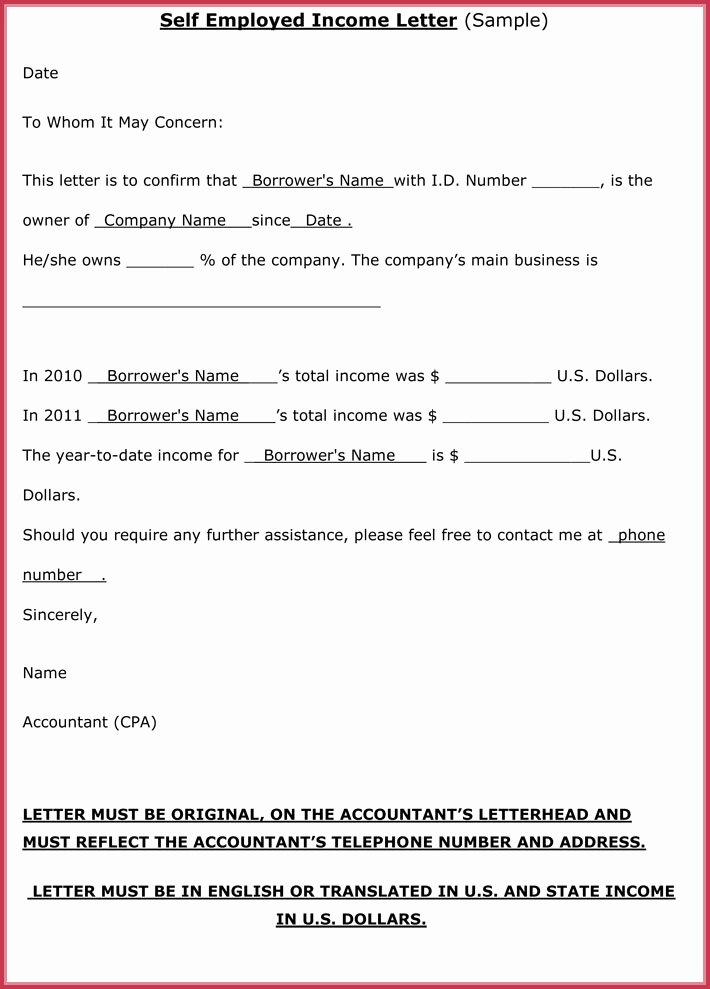 Proof No Income Letter Sample Luxury Proof Of In E Letter 20 Samples formats In Pdf & Word