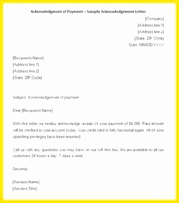 Proof Of Payment Letter Lovely Proof Of Payment Letter Template