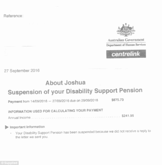 Proof Of Payment Letter New Melbourne Man with Severe Disabilities told His Centrelink