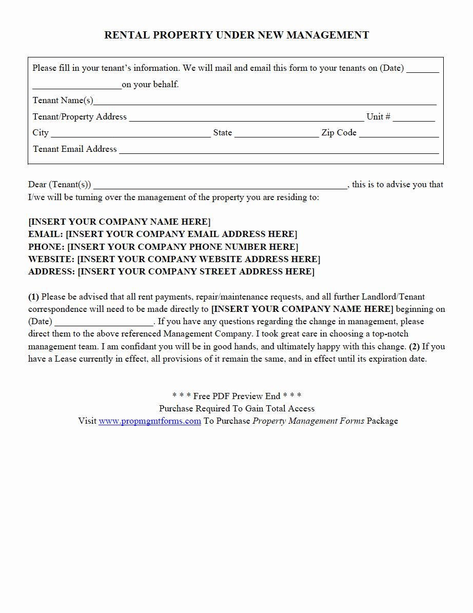 Property Management forms Templates Beautiful Property Management forms