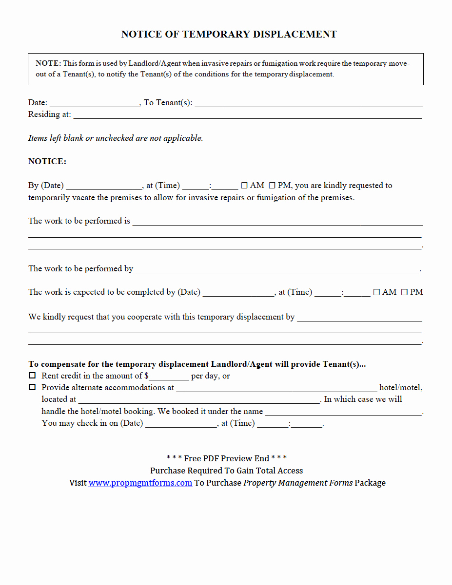 Property Management forms Templates Inspirational Property Management forms