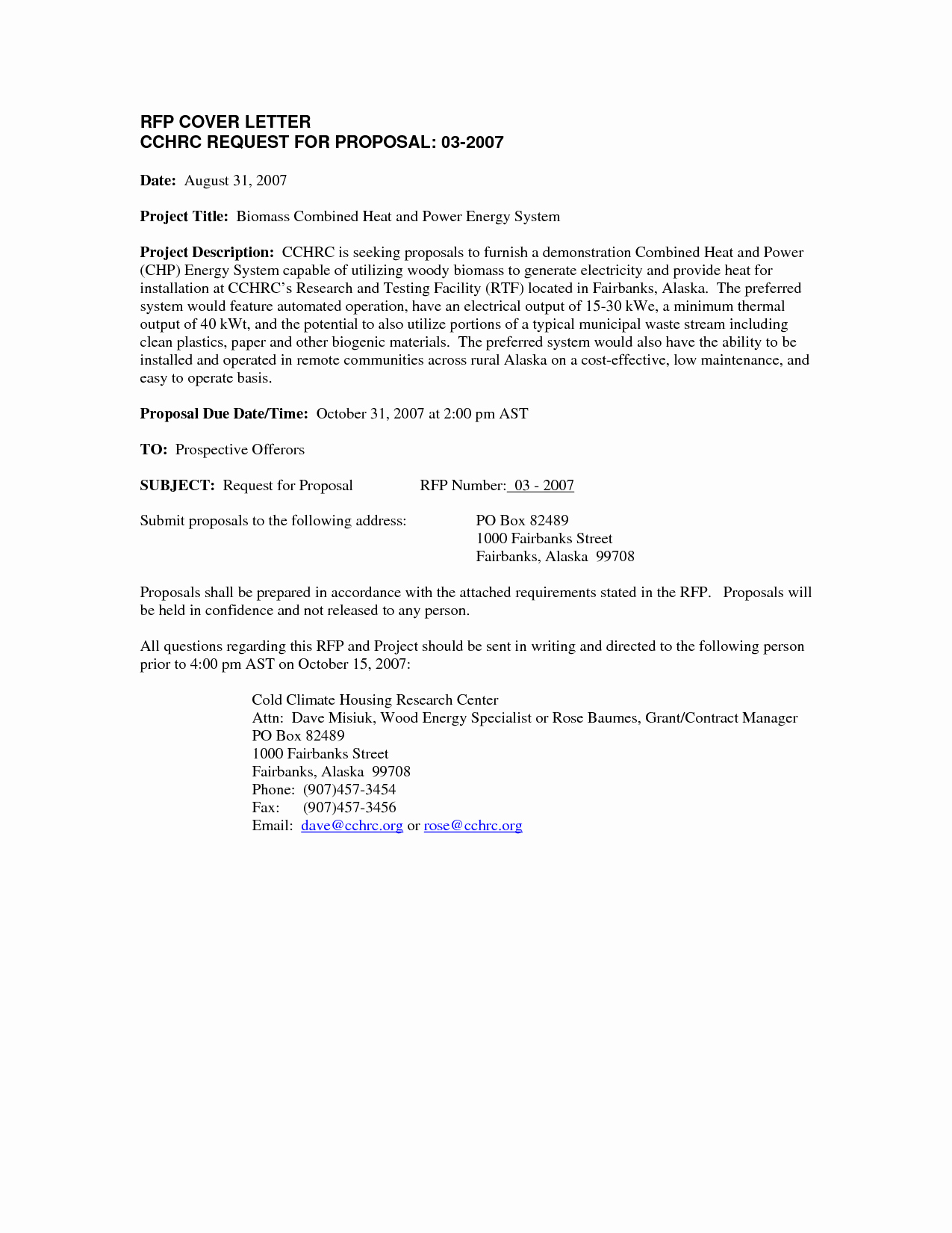 Proposal Cover Letter Template Fresh Cover Letter for Submission Of A Proposal