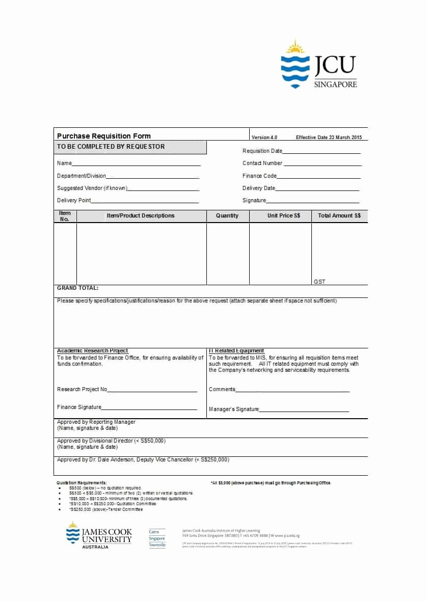 Purchase Requisition forms Template Awesome 12 Requisition form Templates Free Sample Templates