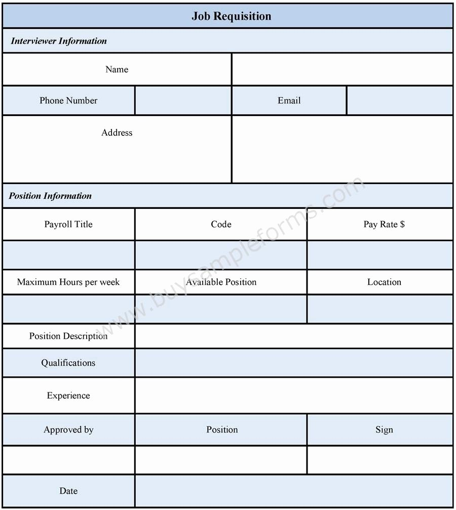 Purchase Requisition forms Template Fresh Purchase Requisition forms Template Free Programs