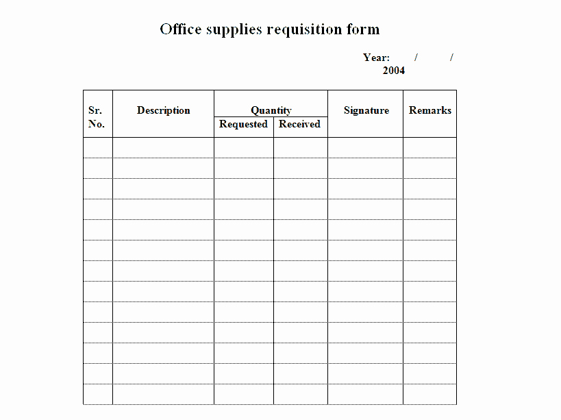 Purchase Requisition forms Template Luxury 2 Requisition form Templates Word Excel formats