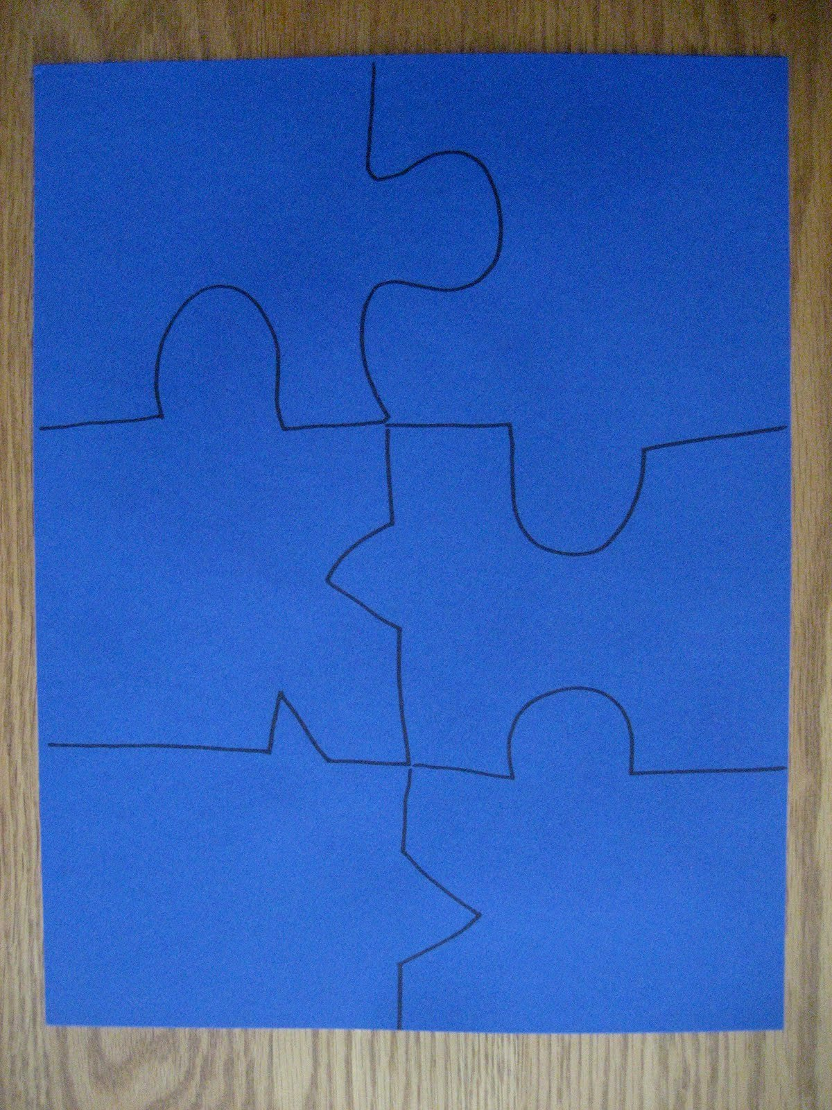 Puzzle Piece Cut Outs Awesome toddler Approved Mom Project 4th Of July Puzzle