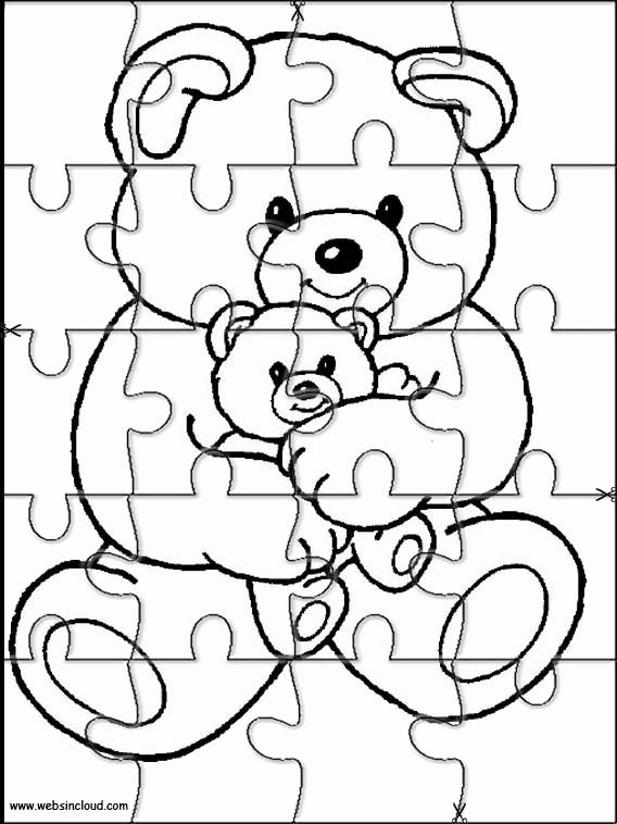 Puzzle Piece Cut Outs Best Of Printable Jigsaw Puzzles to Cut Out for Kids Animals 11