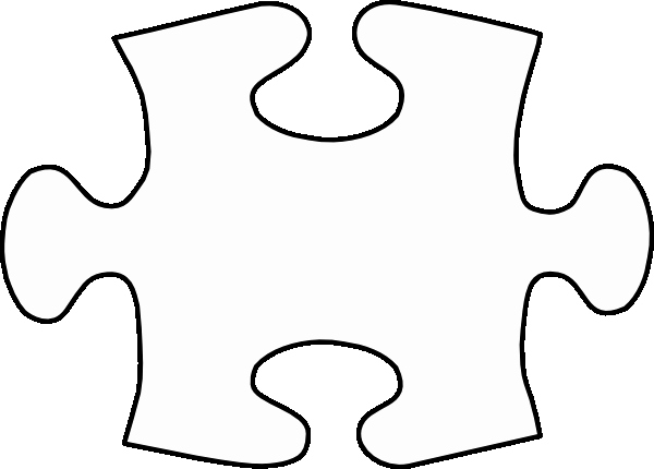 Puzzle Piece Cut Outs Fresh Jigsaw White Puzzle Piece Clip Art at Clker