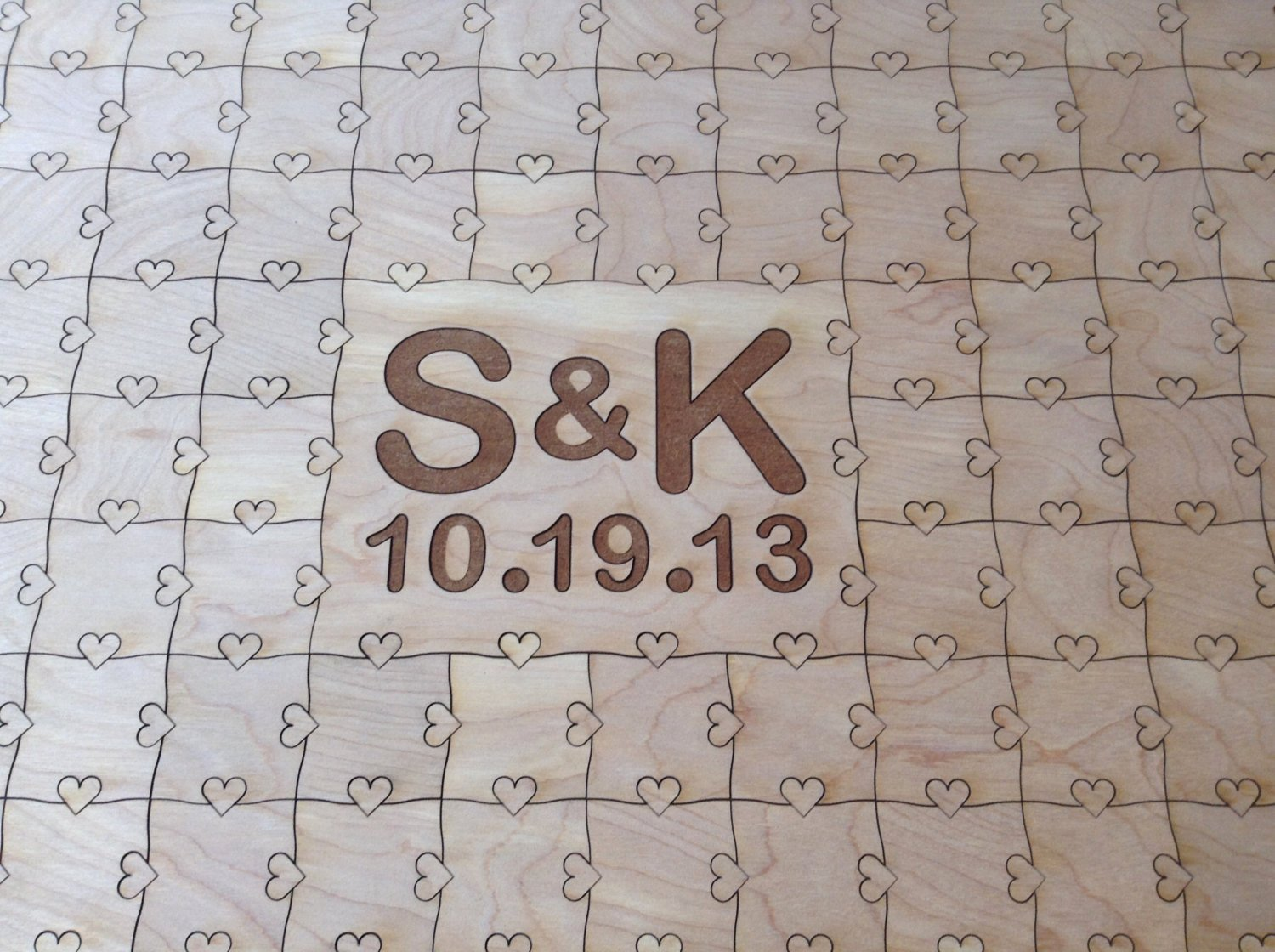 Puzzle Piece Cut Outs Fresh Wedding 100 Piece Puzzle with Cut Out Text by