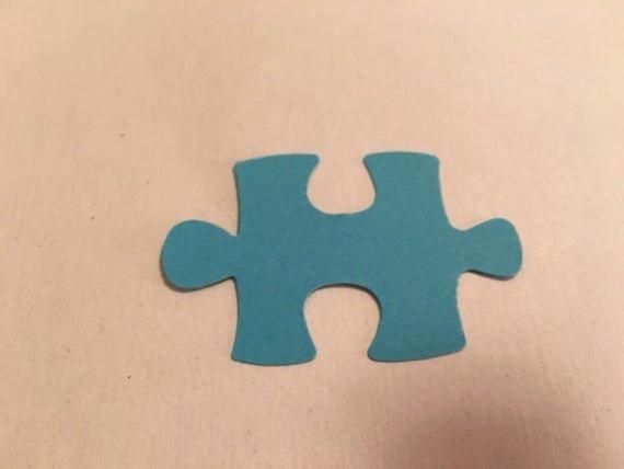 Puzzle Piece Cut Outs Luxury Puzzle Piece Paper Cut Out Diy Puzzle Piece Cutout
