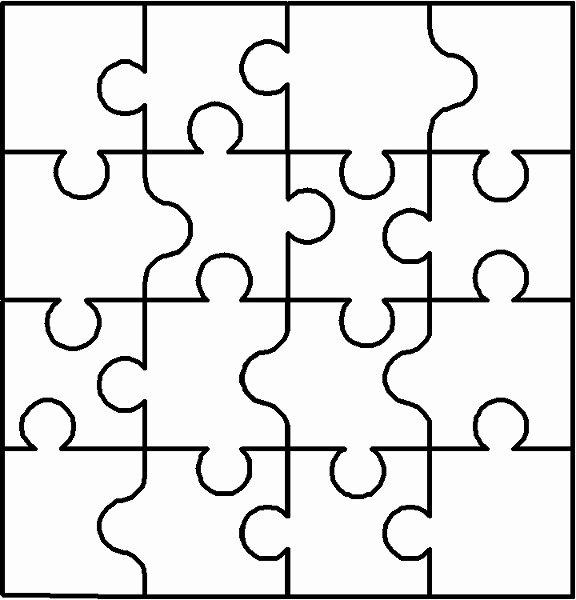 Puzzle Piece Cut Outs New Autism Puzzle Piece Cut Out Clipart Best
