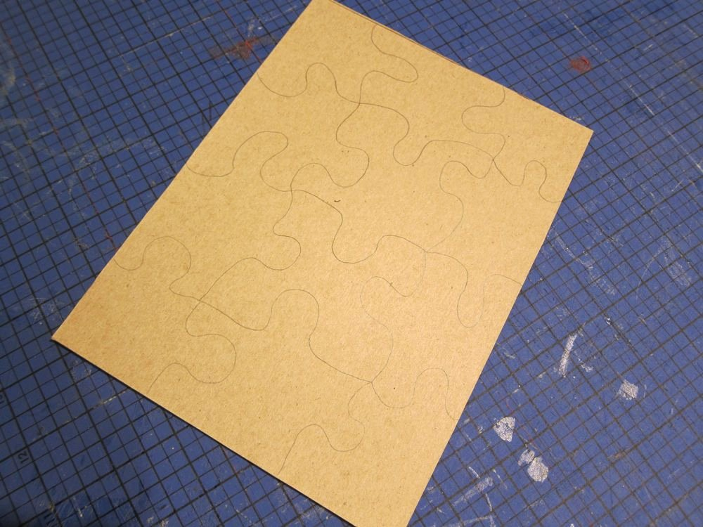 how to make puzzles from coloring pages