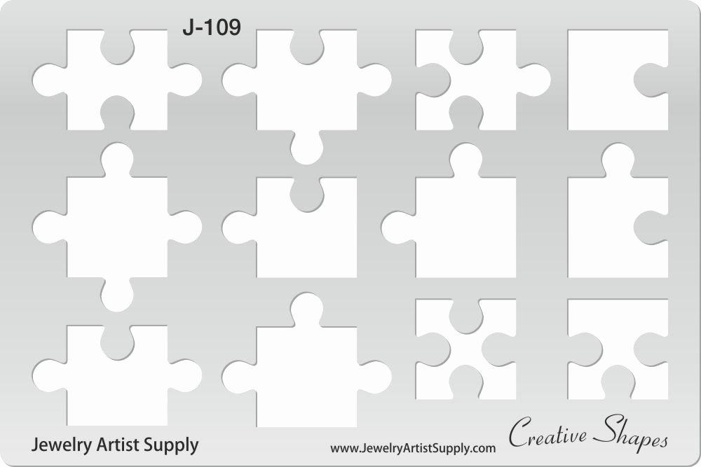 Puzzle Piece Cut Outs Unique Puzzle Pieces Template Cut It Out