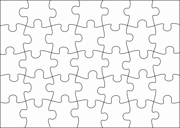 Puzzle Pieces Template for Word Fresh Best 25 Puzzles Ideas On Pinterest