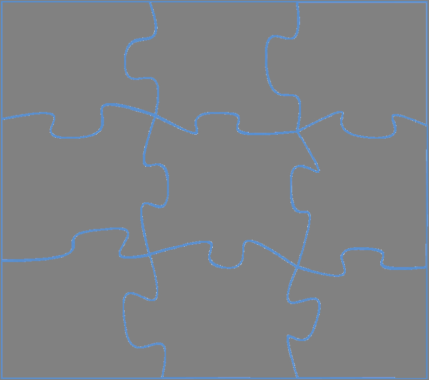 Puzzle Pieces Template for Word Unique Drawing In Powerpoint Jigsaw Puzzle Part 1