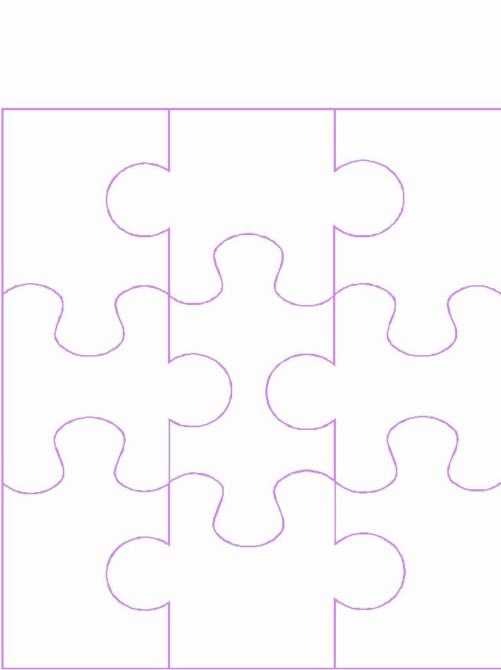Puzzle Template 9 Pieces Beautiful Blank 9 Piece Puzzle Template Clipart Library