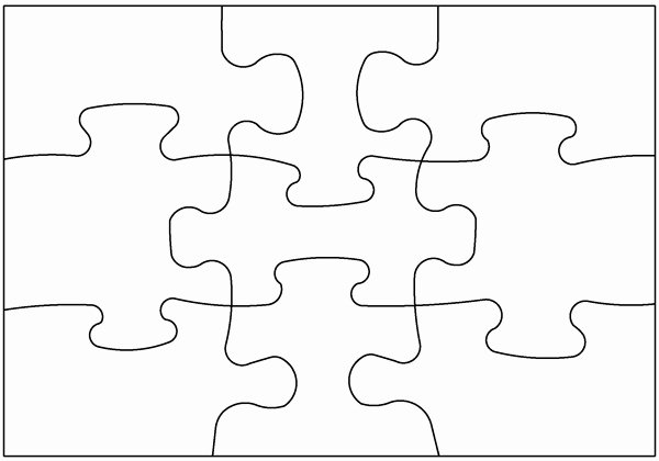 Puzzle Template 9 Pieces Best Of Blank Puzzle Pieces Free Download Clip Art