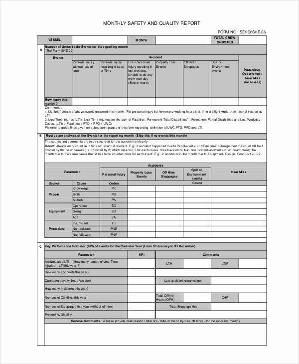 Quality assurance Report Sample Awesome 15 Quality Report Templates Pdf Word Pages Docs