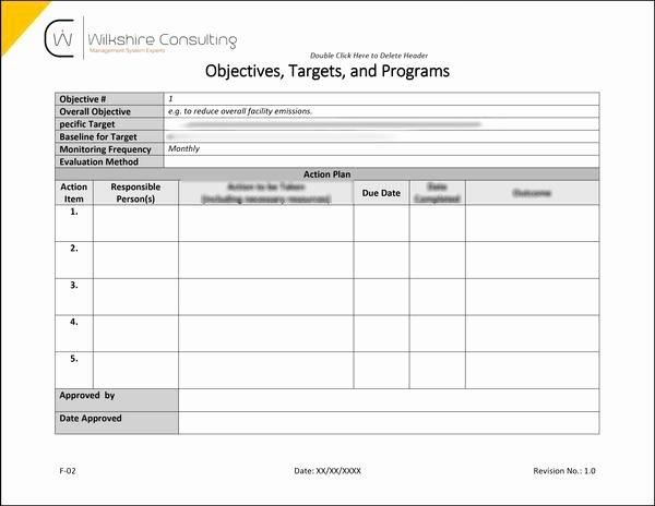 Quality Control Documentation Templates Elegant iso 9001 2015 Quality Management System Documentation