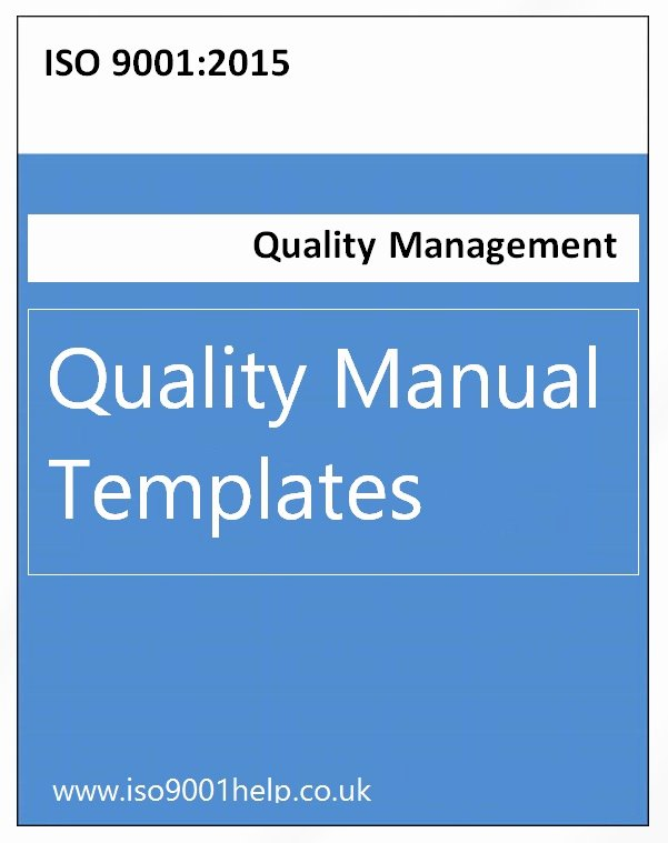 Quality Control Documentation Templates New iso Templates