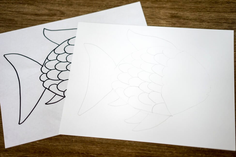 Rainbow Fish Printable Template Awesome Rainbow Fish Craft with Free Template the Best Ideas for