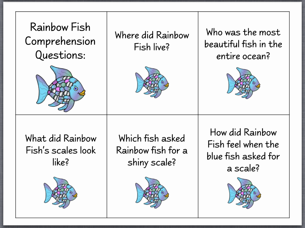 Rainbow Fish Printable Template Beautiful Let S Talk with Whitneyslp the Rainbow Fish