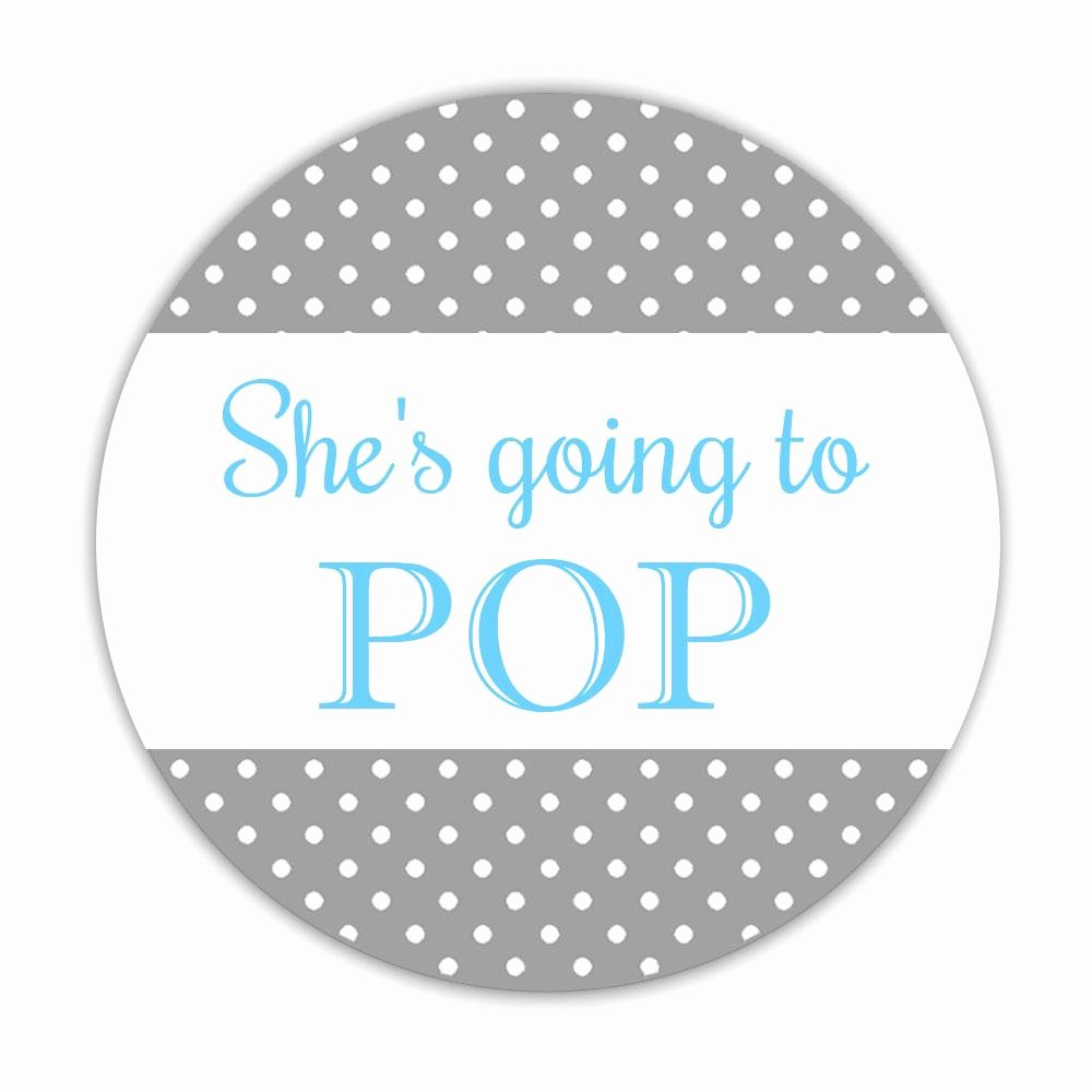 Ready to Pop Template Elegant Ready to Pop Stickers