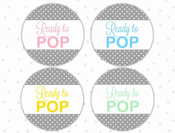 Ready to Pop Template Fresh Ready to Pop Stickers Ready to Pop Labels Ready to Pop