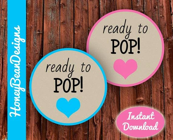 Ready to Pop Template Unique Instant Download Printable Ready to Pop Tags Labels Stickers