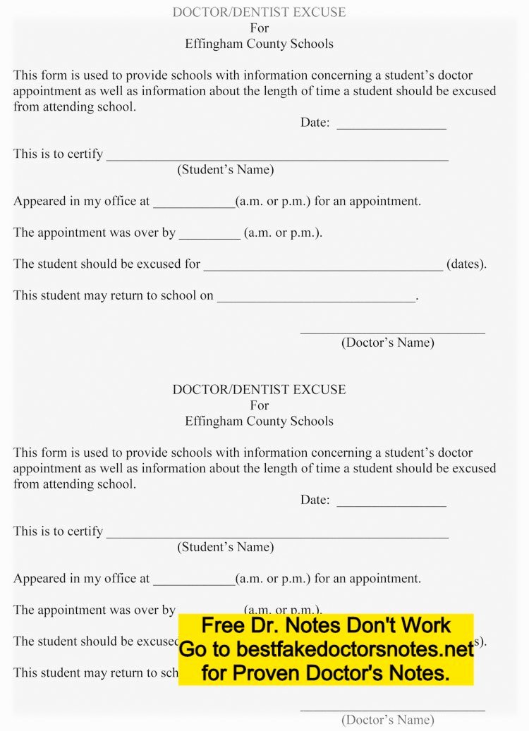 Real Fake Doctors Note Elegant Download Fake Doctors Note Templates & Excuses