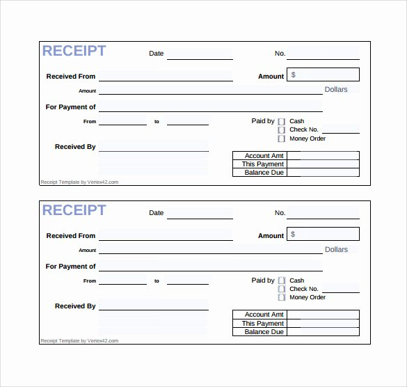 Receipt Of Sale Template Unique Free 19 Sales Receipt Templates In Google Docs