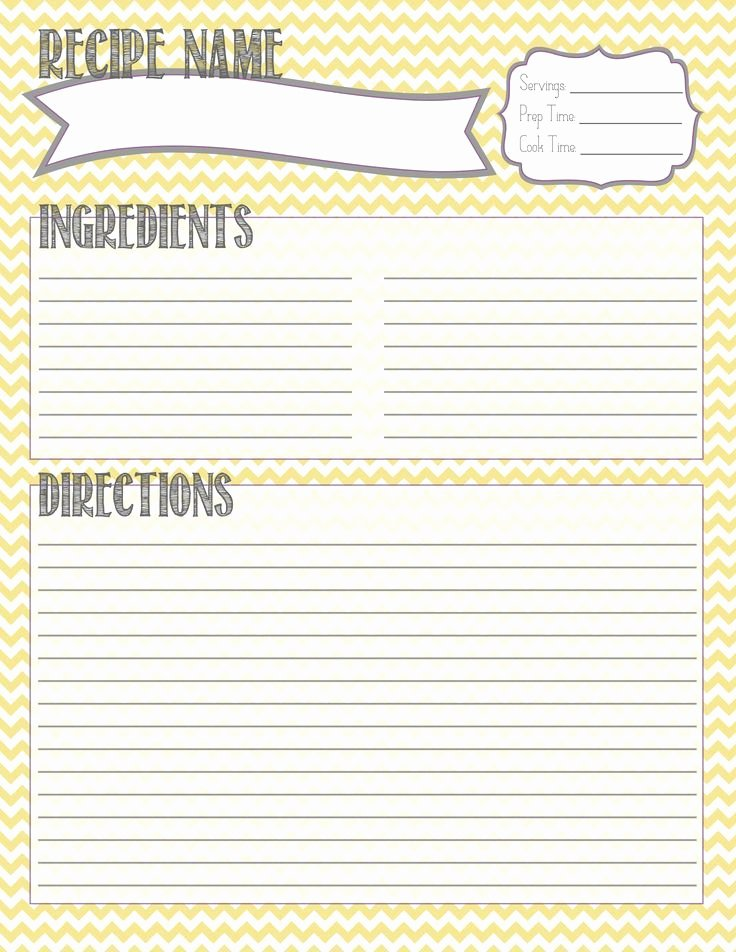 Recipe Book Template Pages Fresh Diy Recipe Binder by Cricut Google Search