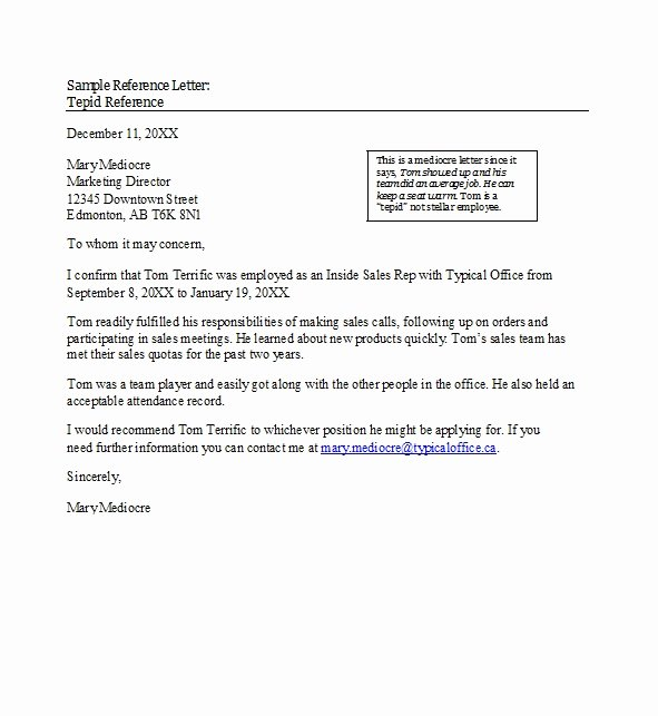Recommendation Letter Examples for Jobs Lovely 50 Best Re Mendation Letters for Employee From Manager