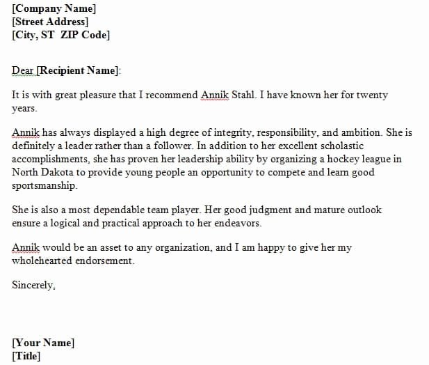 Recommendation Letter for Citizenship Awesome 4 Re Mendation Letters for Citizenship – Find Word Letters
