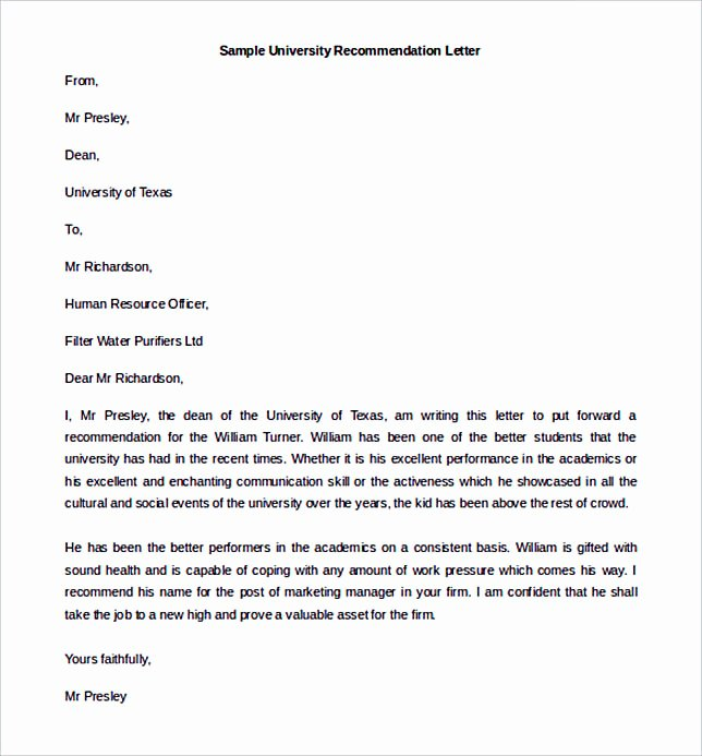 Recommendation Letter for Citizenship Unique Sample Re Mendation Letter to Follow for the Best Of It