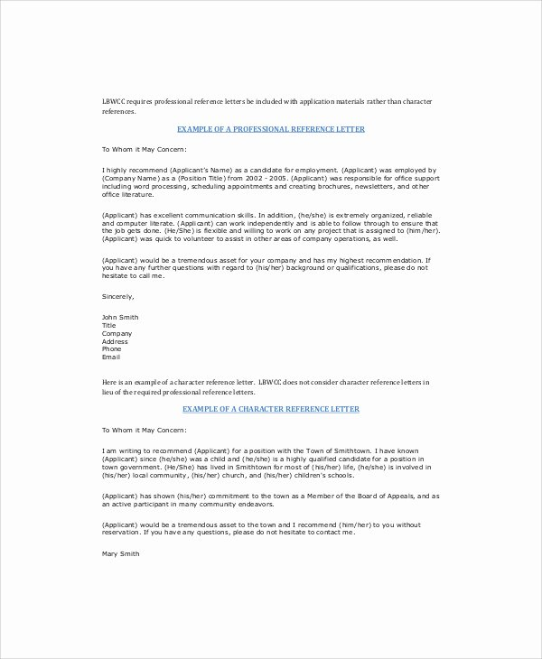 Recommendation Letter for Coworker Best Of Sample Letter Of Re Mendation for Coworker 5 Examples