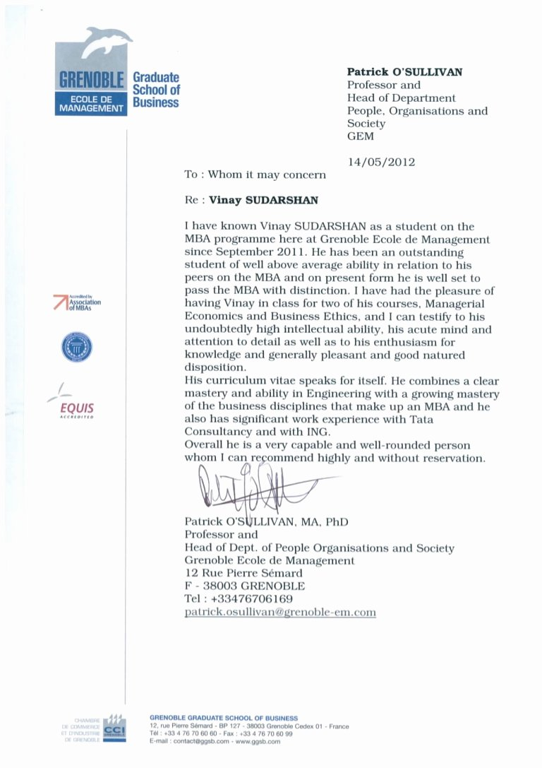 Recommendation Letter for Professor Position Inspirational Re Mendation Letter From Professor Of Economics