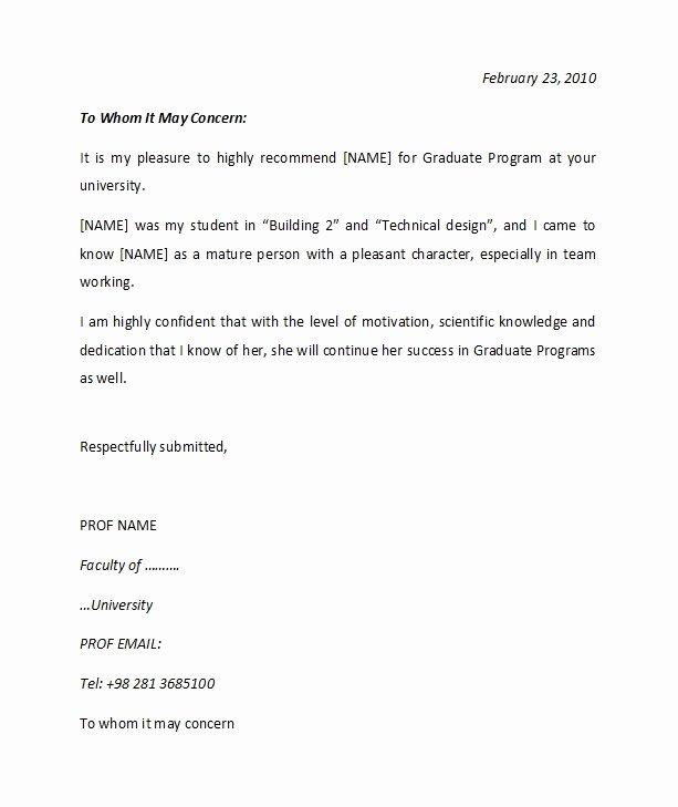 re mendation letter from teacher