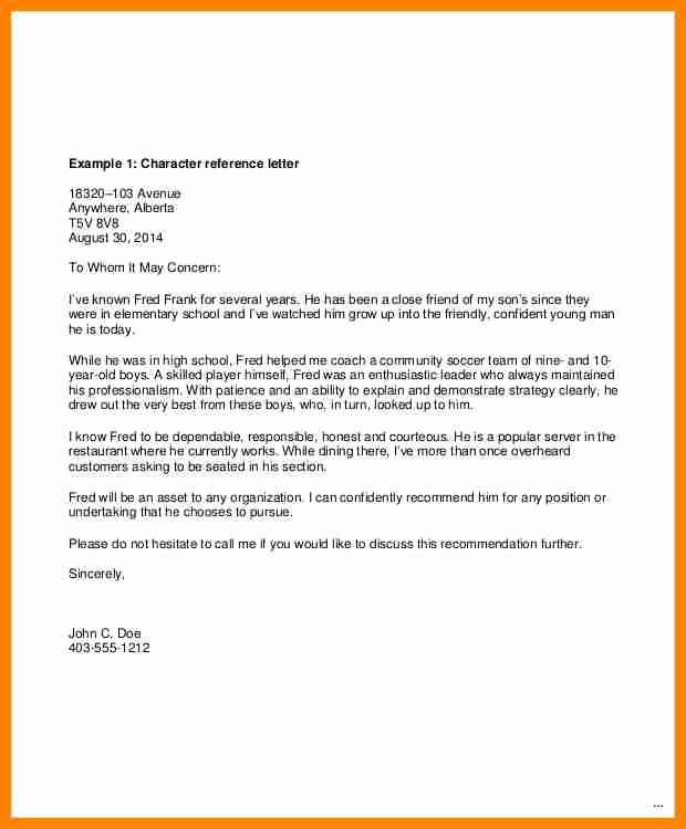 Recommendation Letter Template Word Awesome 8 Request for A Letter Of Re Mendation Template