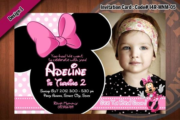 Red Minnie Mouse Birthday Invitations Elegant Minnie Mouse Invitations Minnie Mouse Birthday Party