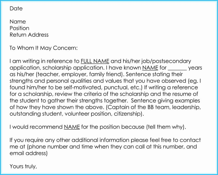 Reference Letter for Teachers Fresh Writing A Reference Letter for Teacher 6 Sample Letters