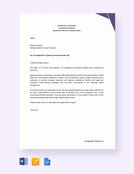 Reference Letter Template for Employment Inspirational Employment Reference Letter 11 Free Word Excel Pdf