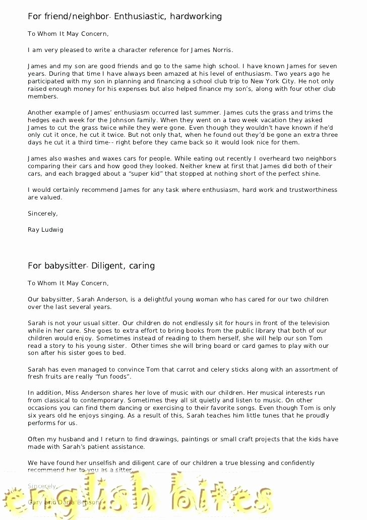 Reference Letters for Immigration Purposes Lovely Reference Letter for Immigration From Friend