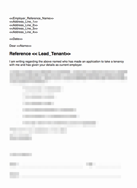 References Letter From Employer Luxury Employer Reference Request